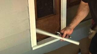 Perfect cuts on wood trim (Without A SAW).