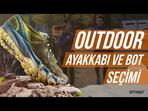 Salomon Outline Gore-Tex Kadın Outdoor Ayakkabı Video 1