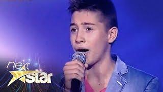 "Valentin Poenariu - Lara Fabian - ""Je t'aime"" - Next Star"