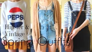 OUTFITS ♣ Spring Vintage & Hipster Style