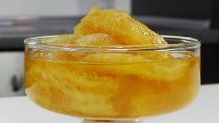 Апельсиновое варенье видео рецепт