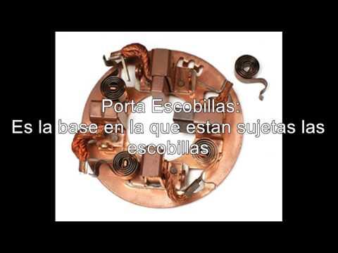PARTES DE UN MOTOR DE ARRANQUE (ESPAÑOL)