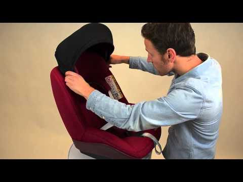 Maxi-Cosi | How to install the Sun Canopy for toddler seats