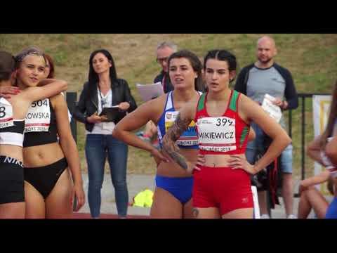 73. PZLA MP U20: Magdalena Stefanowicz wygrywa 100 metrów