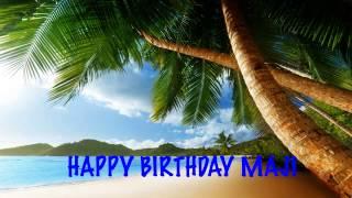 Maji  Beaches Playas - Happy Birthday