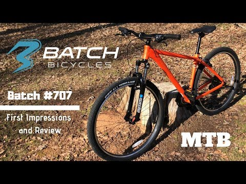 Batch Bicycles Batch #707 Mountain Bike | First Look and Review