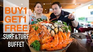 Best Value Surf & Turf Buffet in Bangkok Only 899 Baht ++ Buy 1 Get 1 Free - Review