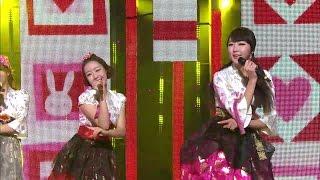 【TVPP】DALSHABET - Supa Dupa Diva, 달샤벳 - 수파 두파 디바 @ New Year Special, Show Music core Live