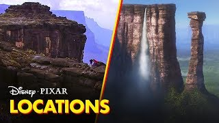 Pixar Did You Know? | The Real Places Behind the Films | Disney•Pixar - Video Youtube