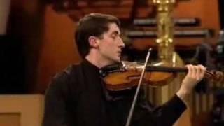 Noah Bendix Balgley | Brahms Violin Concerto | 1st Mvt | Queen Elisabeth Comp | 2 of 3 | 2009