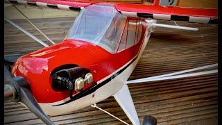 J3 Cub Restoration for cockpit cam FPV - Part 2