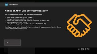 ⚠️XBOX LIVE: 7 Day Suspension for Communication (Tutorial) 2019
