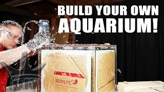HOW TO BUILD AN AQUARIUM - BRACELESS!!