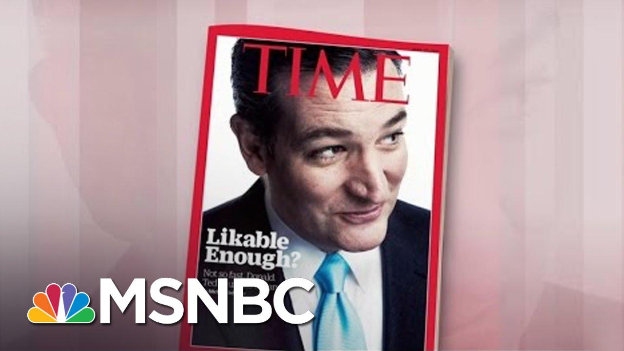 'Time' Wonders: Is Ted Cruz 'Likable Enough?' | Morning Joe | MSNBC thumbnail