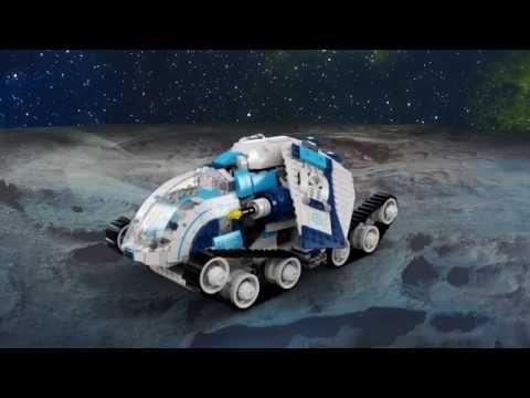 Vidéo LEGO Galaxy Squad 70709 : Le tank cosmique