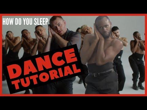 DANCE Tutorial for Sam Smith - How Do You Sleep? (Step by Step)