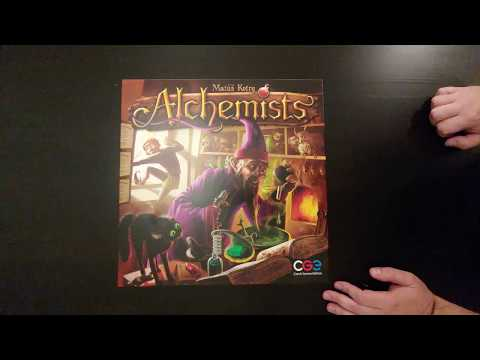 Alchemists - Whats in the Box?