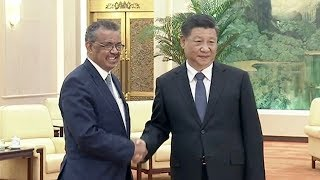 Chinese president and WHO chief discuss protection measures