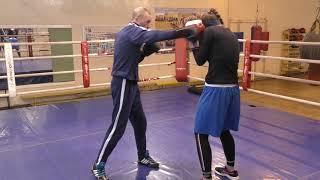 Бокс: комбинированная защита (English subs)