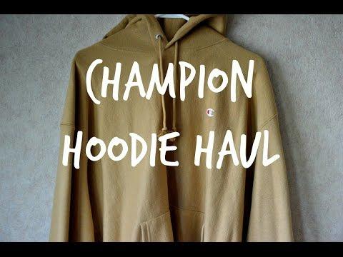 CHAMPION HOODIE HAUL / BEST MENS HOODIE