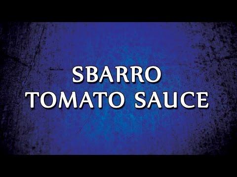 Sbarro Tomato Sauce | RECIPES | EASY TO LEARN