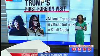 World View - 26th May 2017 - Analysis of US President Donal Trump's first foreign trip