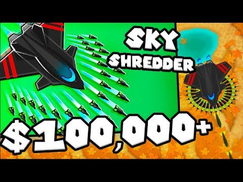 Bloons TD 6 - The Sky Shredder - Tier 5 Monkey ACE | JeromeASF