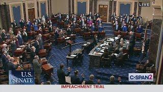 Сенат отказался признать импичмент Трампу неконституционным и перенес слушания