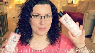 Maria Nila Luminous Colour Shampoo & Conditioner Review   Beauty   Haircare   WavyKate