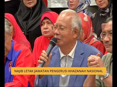 Najib letak jawatan sebagai Pengerusi Khazanah Nasional