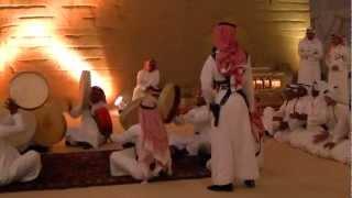 Saudi folk music with performance