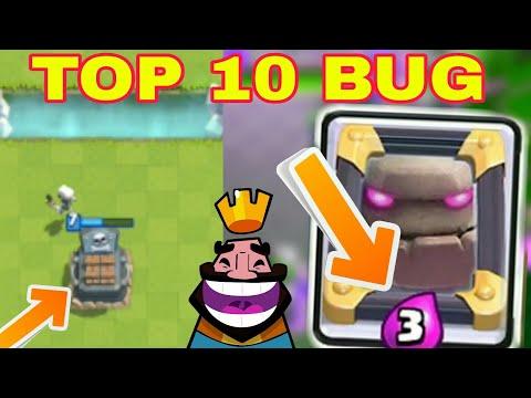 Top 10 Bug a Clash Royaleban! Legviccesebb és Legdurvább Buggok! letöltés
