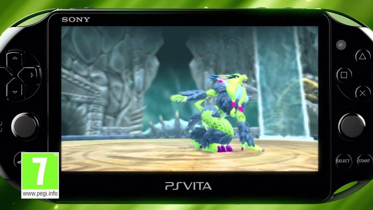 La caza comienza hoy en PlayStation Vita con Invizimals: La Resistencia