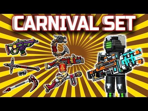 CARNIVAL SET : Pixel Gun 3D [Gameplay]