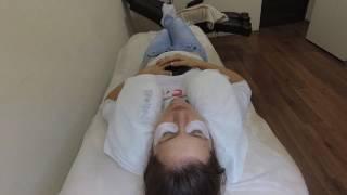 Как клиенты ведут себя на процедуре наращивания ресниц)))