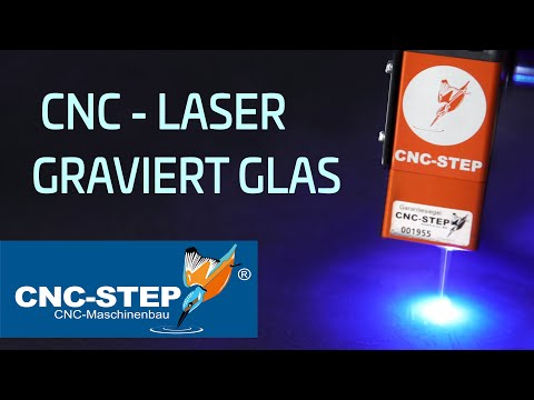 Grabador láser para fresadora CNC / vidrio grabado por láser