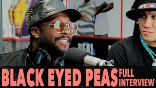 """Black Eyed Peas On """"Where Is The Love"""" (Ft The World) And More! (Full Interview) 