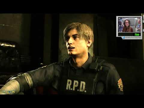 PS4 Pro Gameplay Part 1 de Resident Evil 2 (2019)