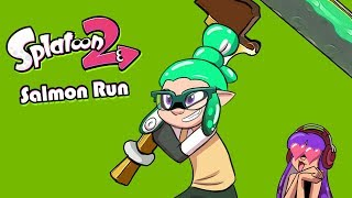 Carried by QUEENS! (Splatoon 2 Salmon Run Livestream)
