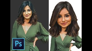CREATING A CARICATURE Photoshop Tutorial