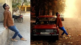 Ps Touch Tutorial | Photo With Car | Beautiful Phot Editing Hindiurdu