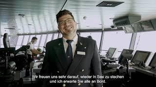 Costa Kreuzfahrten: Welcome Back
