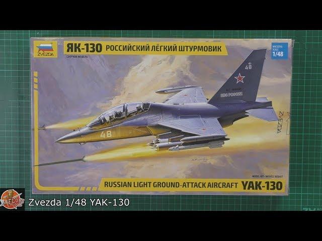 Eduard 1//48 Yakovlev Yak-130 Zoom Set # FE978