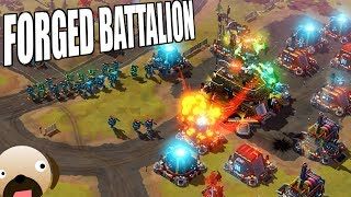 Create your Own Army - Forged Battalion Gameplay