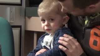 Part 2 - Twins T& D Having Their Cochlear Implants Activated