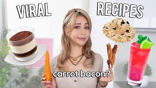 Testing Internet Viral Food Recipes