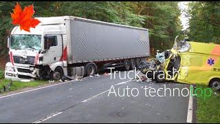 аварии фур и грузовиков с пострадавшими! Подборка жестких дтп с большегрузами и самосвалами 2016 18+