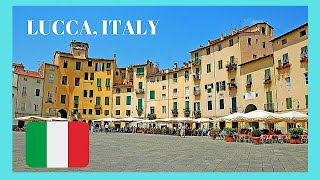 LUCCA, the most beautiful and historic city in TUSCANY (ITALY), top attractions