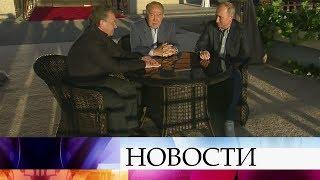 Владимир Путин провел встречу с президентами Казахстана и Узбекистана.