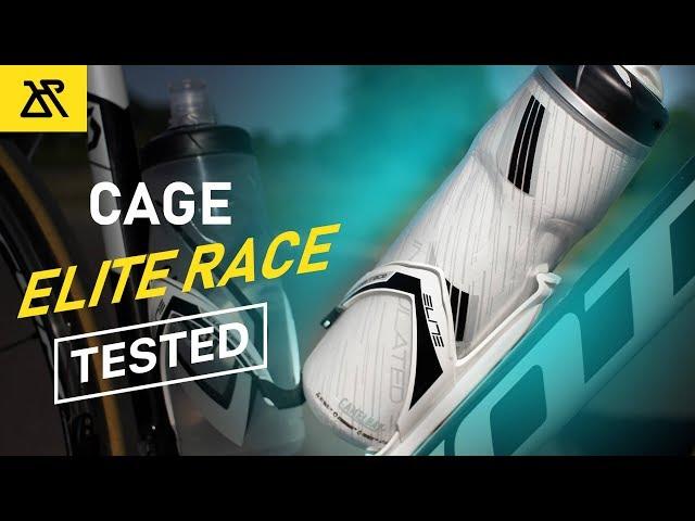 Видео Флягодержатель Elite Custom Race черно-белый